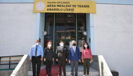 Yeniyol, Çiftlikköy'de öğrencilerin okul heyecanını paylaştı