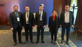 AK Parti Heyeti, Ankara temaslarında bulundu