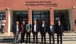 Çoşkun, Çiftlikköy'de okulları ziyaret etti