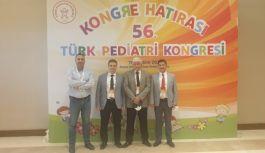 Dekan Arıca 56. Türk Pediatri Kongresi'ne katıldı