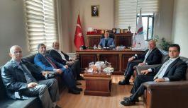 Dekan Arıca'ya MHP ve Kamu-Sen'den ziyaret