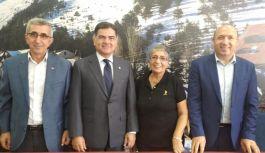 Erzurumlu Başkanlar Kartal'da bir araya geldi