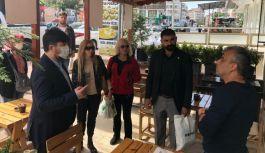 Gelecek Partisi Çınarcık esnafıyla buluştu