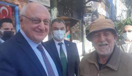İYİ Parti Genel Başkan Yardımcısı Erozan, esnafı ziyaret etti