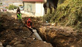 Mahallelerde altyapı çalışmaları devam ediyor