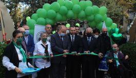 Özel Gençlerin sergisi Cevdet Aydın Parkı'nda açıldı