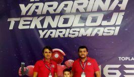 TEKNOFEST'e Yalovalı genç girişimciler damga vurdu