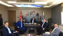 Başkanlardan, Başkan Arslan'a ziyaret