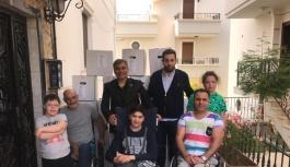 Engelli ailelerini unutmadılar