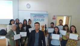 Yalova Üniversitesi öğrencileri 'İş...