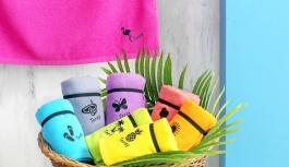 Özdilek Ev Tekstili'nden rengarenk plaj...