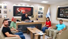 YTSO 12. Meslek Komitesinden Güleç'e...