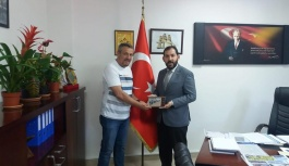 TSSF İl Temsilcisi İnce, Soygüzel'i...