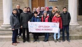 Öğrencilerden Altınova turu