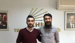 CHP Merkez İlçe Gençlik Örgütü Başkanı...