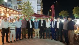 Öz, ilk ziyaretini Esenköy'e gerçekleştirdi