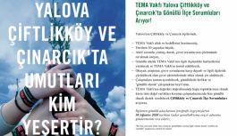 TEMA Vakfı Yalova, Çiftlikköy ve Çınarcık'ta...