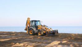 Doğu sahil bandında ilk etap çalışmaları...