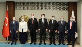 Toplantı için Ankara'dalar