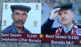 Pala Selahattin'in Erdoğan sevgisi bir...