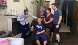 Tutuk'tan, Coşar'a evinde ziyaret