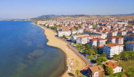 """Çiftlikköy Halk Plajı testleri """"temiz""""..."""