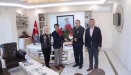 TEMAD, Liman Başkanı Pekşen'i ziyaret...