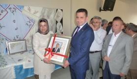 Taşköprü'de 'Dikiş Nakış Kursu Sergisi' açıldı