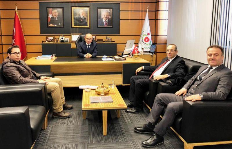 Başkan Oral'a ziyaretler sürüyor