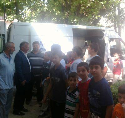 Başkan Koçal'a Cami Yetkililerinden Teşekkür