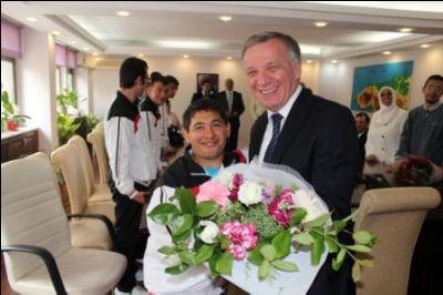 Engelli Dernek ve Kuruluşları'ndan Başkan Koçal'a Ziyaret