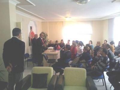 Çiftlikköy MHP'den Bayramlaşma töreni