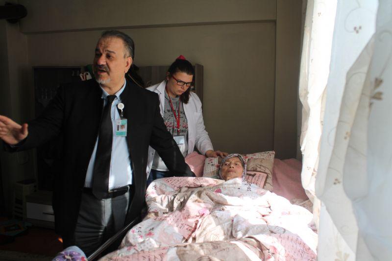 Sağlık hizmeti hastaların evine taşınıyor
