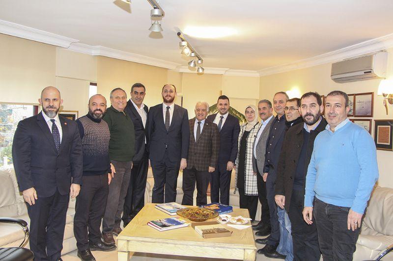 AK Parti Heyeti'nden YTSO'ya ziyaret