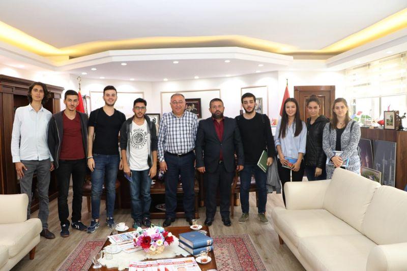 Başkan Salman'dan öğrencilere tam destek