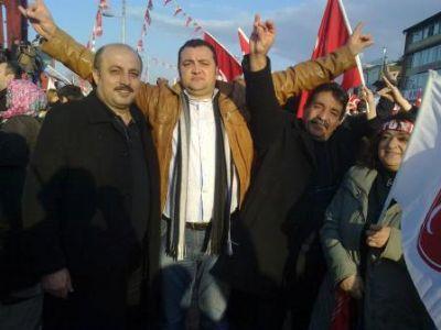 MHP Çiftlikköy ilçe teşkilatı, Bursa Mitingindeydi
