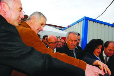 Altınova Belediyesi Hizmet Binası'nın temeli atıldı