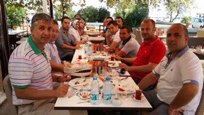 AK Parti Merkez İlçe Başkanlığı, teşkilatı ile birlikte