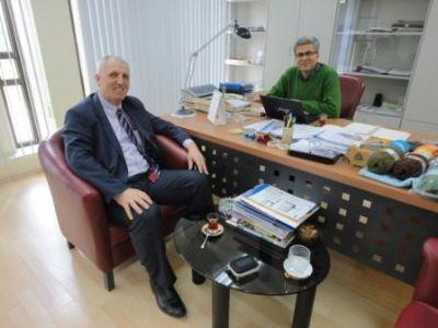 Taşköprü Belediye Başkanı Şaban Ertan'dan, Ersur'a ziyaret