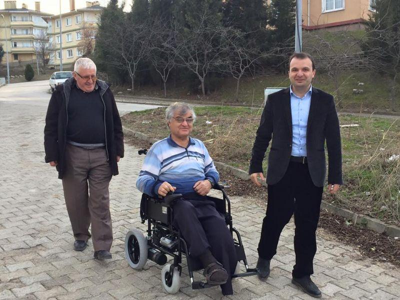 Subaşı Belediyesi Subaşı engellilerin hayatını kolaylaştırıyor