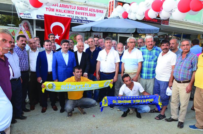 Siirt Vakfı Armutlu şubesinin açılışı yapıldı