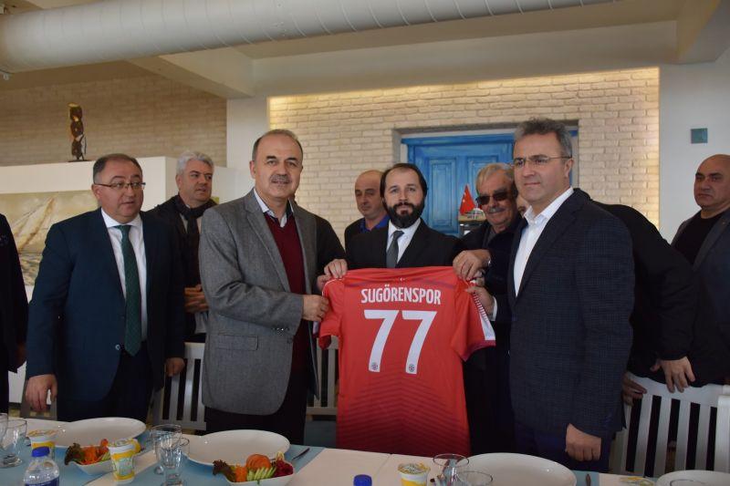Sugören Gençlerbirliği Spor Kulübü'nden anlamlı organizasyon