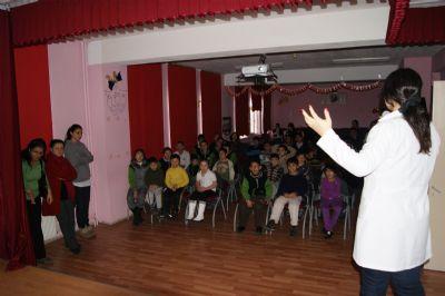 Veteriner İşleri Müdürlüğü Minik Öğrencileri Eğitiyor
