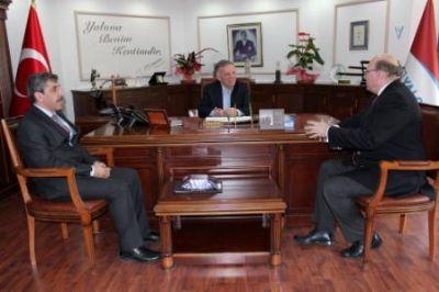 Belçika İstanbul Başkonsolosu Henri Vantieghem'den Ziyaret