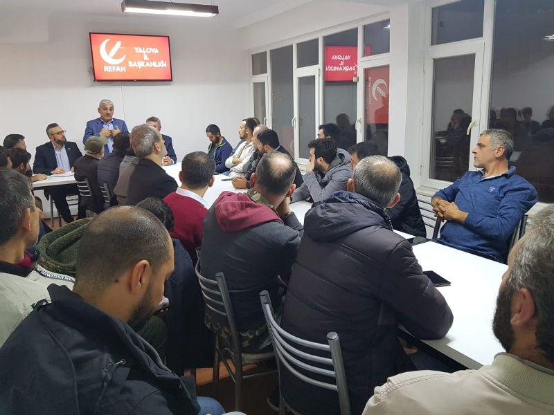 Yeni Refah Partisi Kurucular Kurulu ilk toplantıda buluştu