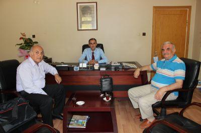 Karadenizliler Derneği ve Ömer Fitoz'dan Uzun'a Ziyaret