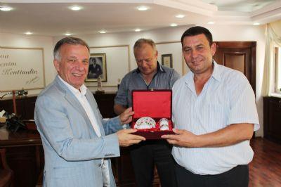 Smolyan Belediye Başkanı Melemov'dan, Başkan Koçal'a Ziyaret
