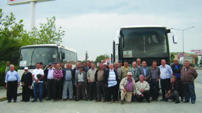 Çiftlikköy Ziraat Odası çiftçiler ile Bursa Tarım Fuarı'nda