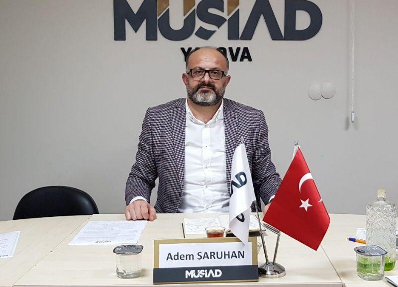 Saruhan, MÜSİAD EXPO Fuarı'na davet etti