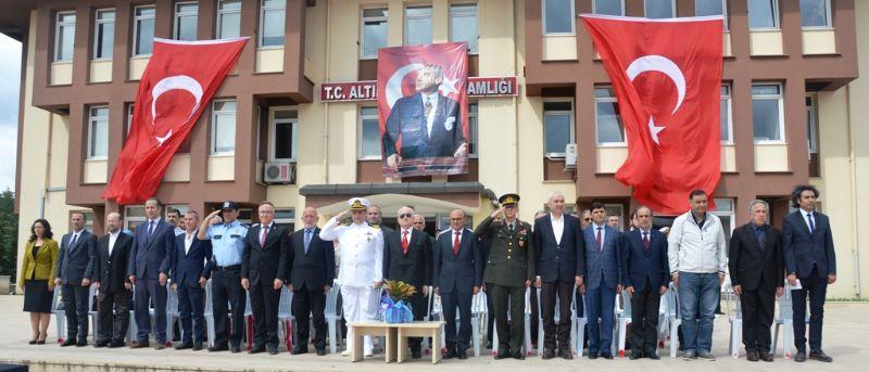 Altınova'da 19 Mayıs coşkusu